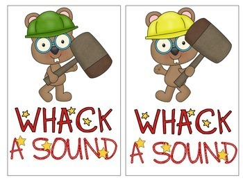 Whack A Sound /S/ { FREEBIE}: Self Checking Articulation Game