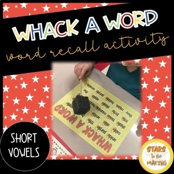 Whack-A-Word (Short Vowels)
