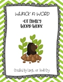 Whack A Word -ot word family