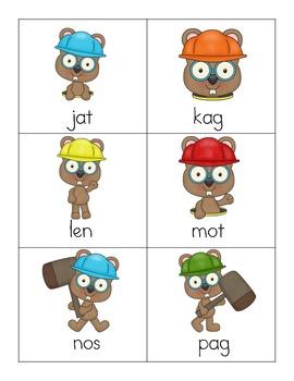 Whack! Nonsense Word Fluency Game