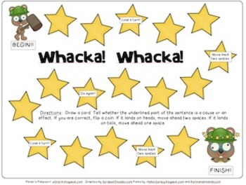 Whack! Whacka! Cause and Effect
