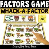 Factors Activity (4.OA.4)