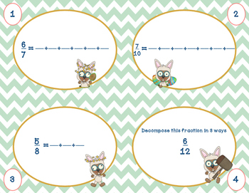 Whack a Fraction: Decomposing Fractions