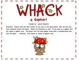 Whack a Gopher! Spelling Practice Game