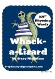 Whack-a-Lizard: Rhyming Words