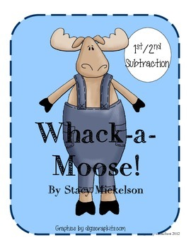 Whack-a-Moose: Subtraction
