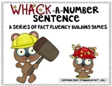 Whack-a-Number Sentence