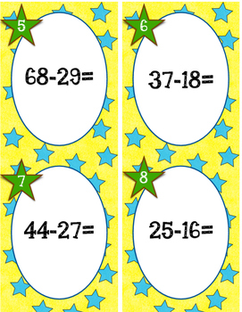 Whack a Number: Subtraction with Compatible Numbers with Regrouping
