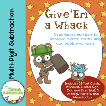 Whack a Number: Subtraction with Compatible Numbers without Regrouping