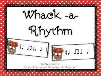 Whack a Rhythm- Unit 1