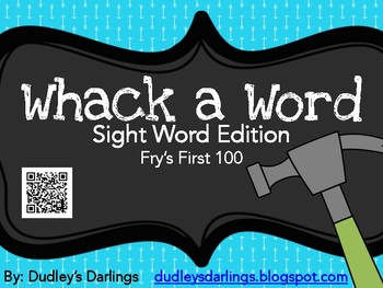 Whack -a- Sight Word