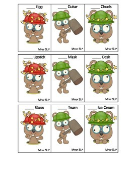 Whack-a-mole describing words!