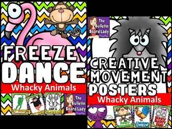 Whacky Animals Freeze Dance and Creative Movement