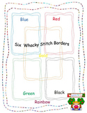Whacky Stitch Borders by Teaching for Fun Commerical Use OK