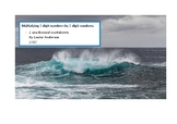 Whale Maths - Long Multiplication