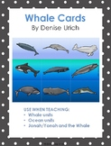 Whales - Colored and Blackline illustrations for Games, Ma