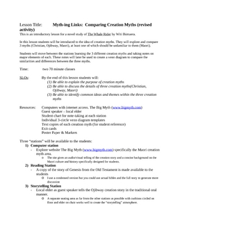 Whale Rider Novel Study Activities and Glossary (revised)