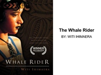 Whale Rider by Witi Ihimaera - Modified Text