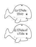 Whale Shape Book