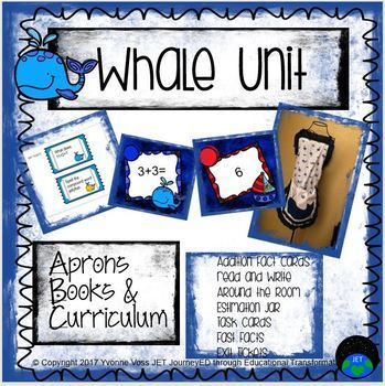 Whale Unit (Literacy and Math Activities)