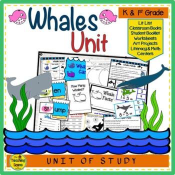 Ocean Theme:  Whale Unit