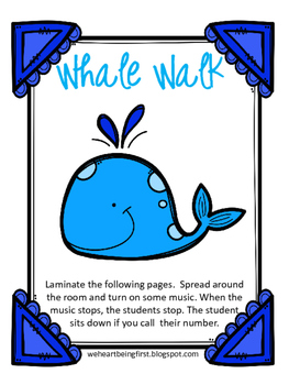 Whale Walk Musical Listening Game