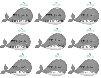 Whale Watch Sight Word Game