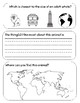 Whale of a Squid Wild Kratts Worksheet