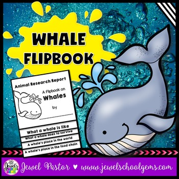Whale Research Flipbook
