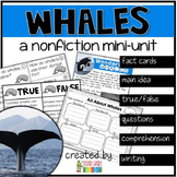 Whales Nonfiction Reading