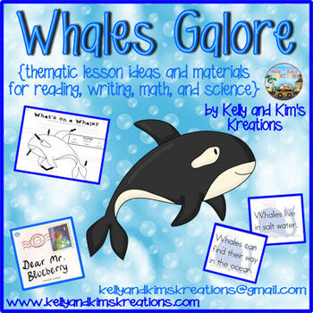 Whales Galore! {reading, writing, math, and science}