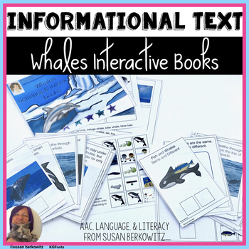 Whales Informational Interactive Text for Differentiated and Special Learning