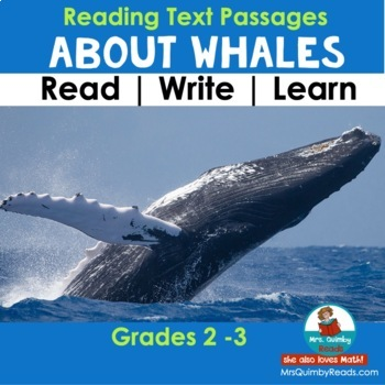 Whales   Informational Text Passages   Reading-Writing Pages