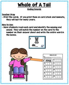 Whales Nonfiction Literacy and Math Mini Unit