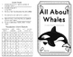 Whales Nonfiction Minibook plus Craftivity, Writing Prompt