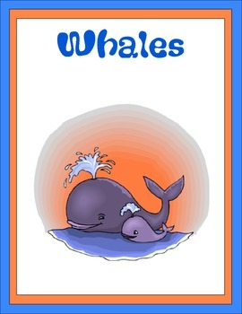 Whales Thematic Unit