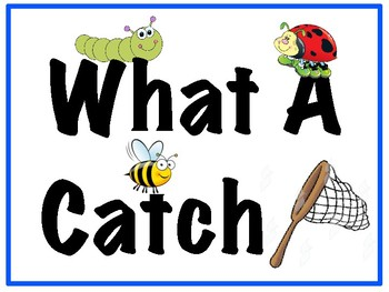 What A Catch!  Character Traits With Critters