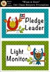 """What A Hoot!"" Owl Class Helpers Printables [Marie Cole Clipart]"