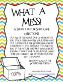 What A Mess - A Short e Picture Sort