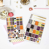 What A Treat! Halloween Printable Planner Stickers