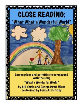 What A Wonderful World Close Reading
