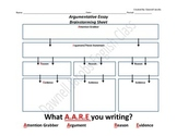What AARE You Writing About? Outline Graphic Organizer