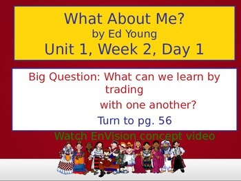 What About Me? PowerPoint Reading Street 3.1.2