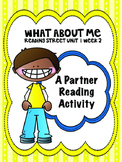 What About Me  Reading Street 3rd Grade Unit 1  Partner Re