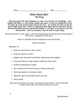 What About Me? Writing