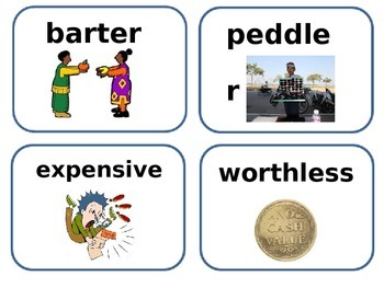 What About Me amazing and vocabulary word cards