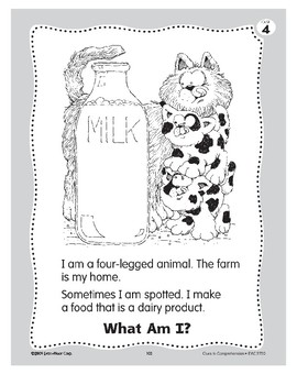 What Am I? A Cow