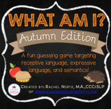 What Am I? A Describing Game {Autumn Edition}