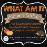 What Am I? A Describing Game {Autumn Edition}