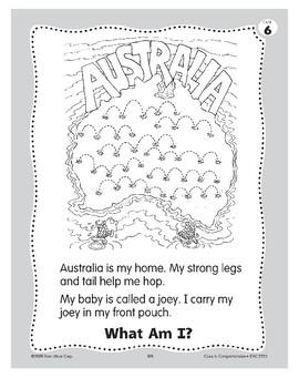 What Am I? A Kangaroo